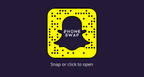 Phone swap dating show snapchat